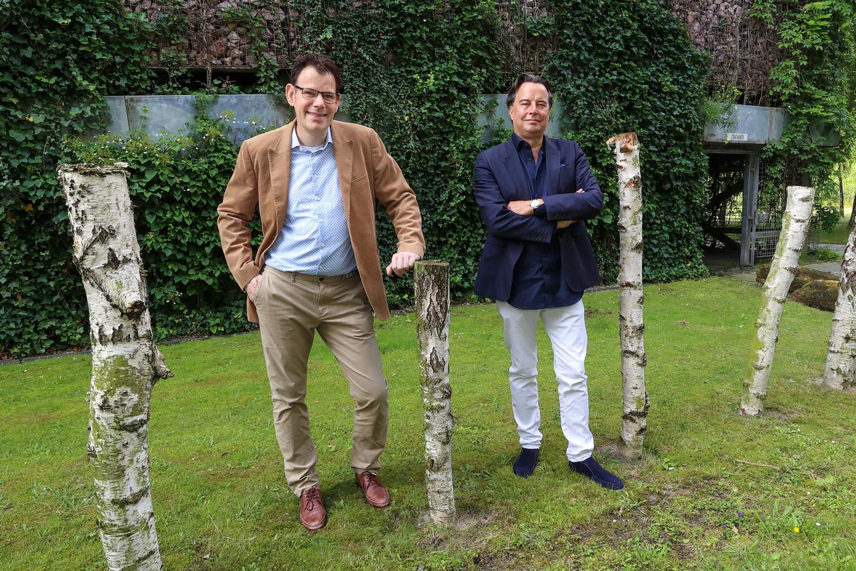Serge Beniers van Bright Cape en Erwin Cootjans van Nunner